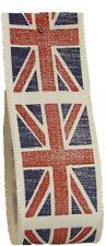 Union Jack Vintage Flag Ribbon 25mm x 20m