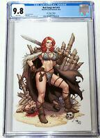 Red Sonja #13 Frank Cho Kickstarter Virgin Variant CGC 9.8 Low Print Run