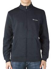 Champion Mens Full Zip Long Sleeve Sweatshirt Navy Designer Fashion Sports Top