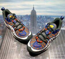 Nike Air Max 98 Phoenix Suns Gunsmoke/Team Orange Mens Size 7 640744 012 New