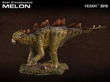Rebor 1:35 scale Baby Stegosaurus dinosaur model (Melon - Scout Series) BNWT