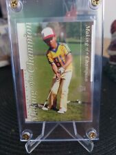 UPPER DECK COLLELTIBLES 2001 MAKING OF A CHAMPION TIGER WOODS!!! TWC2 SP!!!