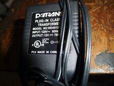 Potrans Plug-In Class 2 Transformer Model # Wd481200700