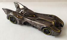 Hot Wheels Metallic Silver DC Comics Bat mobile