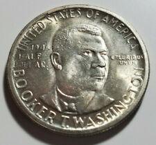 1946-S Booker T Washington  Unc Silver Half Dollar Commemorative