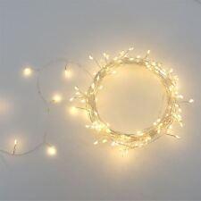 Cluster de plata - 150 LED Luz Interior/exterior alimentado por red de cadena
