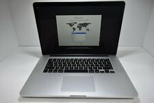 """2015 15"""" Apple MacBook Pro A1398 i7 2.5GHz - 16GB - AMD - 512GB SSD C02SCC14G8WP"""