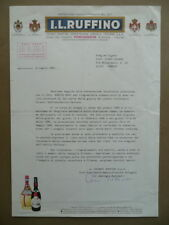 Invito Dattiloscritto Piero Chiara Giuria Premio Letterario 1985 Chianti Ruffino