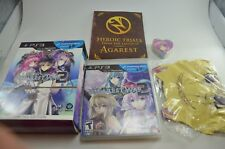 Record of Agarest War 2 Limited Edition PlayStation 3 COMPLETE w/ Towel + Doll