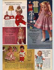 1965 PAPER AD Doll Snugglebun Baby Cheryl Blabby Pattaburp Europe Sylvie Miss