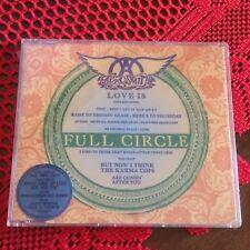 AEROSMITH cd single FULL CIRCLE Glam Hard Rock no Lp