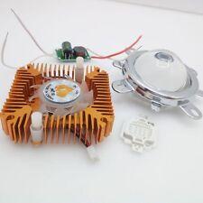 10W 365NM UV High Power LED+10W Driver+44mm Lens+10w Heatsink kit