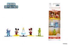 """DISNEY Nano Metalfigs Die-Cast Mini-Figures 5-Pack Case PACKAGE """"A"""""""