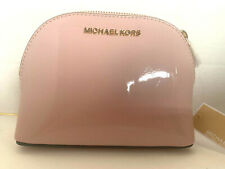NEW! MICHAEL KORS Jet Set Travel Large Leather Pouch-Blossom