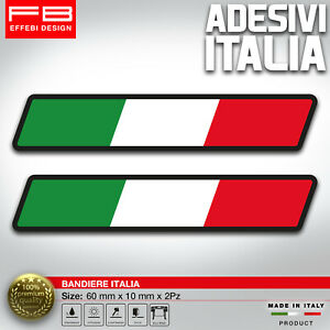 Adesivi Stickers ITALY ITALIA FLAG BANDIERA AUTO MOTO TOP QUALITY SUPER PROMO !!