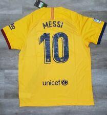 Lionel Messi #10 FC Barcelona 19/20 Away Jersey - Men's Size XXL