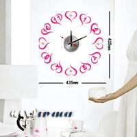 DIY Wall Clock Creative Sticker Digit Love Vinyl Decal Home Decor Art 10D003