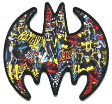 BATMAN batgirl collage EMBROIDERED IRON-ON PATCH **FREE SHIPPING cpdc63 dc comic