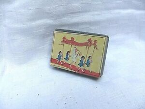 Vintage Hans Christian Anderson Miniature Jigsaw x5 The Emperors New Clothes VGC