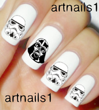 Star Wars Darth Vader Nail Art Water Decals Stickers Manicure Salon Mani Polish