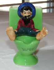 Vintage Collectible Put Your Hot Butt Here Toilet Ashtray Rare Has Chips~