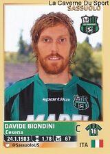 DAVIDE BIONDINI # ITALIA US.SASSUOLO RARE UPDATE STICKER CALCIATORI 2014 PANINI