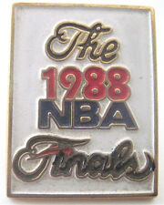 """1988--NBA FINALS (LAKERS """"REPEAT"""" OVER PISTONS)--PIN--NMT"""