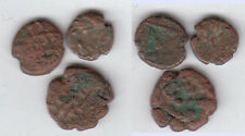 3 x Habbarid Amirs of Sind Ahmad ca. 1000 AD small AE Unit stampsdealer