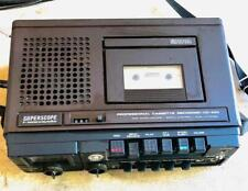 SuperScope CD-330 ( By Marantz ) Three Head Stereo Cassette Deck.For Parts
