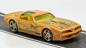 '77 Pontiac Firebird T/A > Orange > Hot Wheels > 2021 > Mint Loose