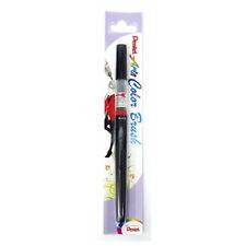 Pentel Arts XGFL-101 Refillable Calligraphy Fude Color Brush Pen - Black [Xmas]