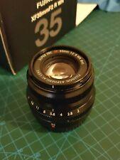 Fujifilm Fujinon XF 35mm f/2 R WR Lens - Black