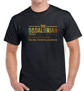 DADALORIAN DEFINITION MENS STAR WARS FATHERS DAY T-SHIRT PRESENT GIFT