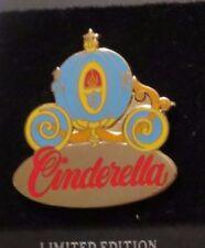Disney Wdw Cinderella'S Coach / Carriage Princess Cinderella Le 20000 Pin