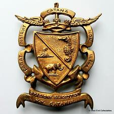 Stazione Elicotteri - Catania - Old Italian Navy Tampion Plaque Badge Crest
