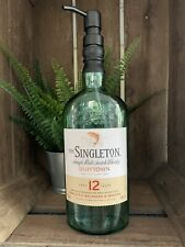 Upcycled The Singleton Whisky Bottle soap dispenser