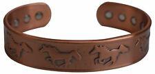 Magnetic Pure Copper Bracelet Horse Logo for Arthritis Wristband