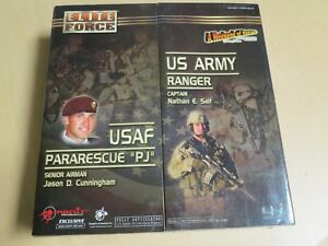"""BBI Elite Force AWOH 2005 Show Exclusive """"Cunningham & Self"""" 2 Pack BRAND NEW"""