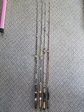 Vtg Garcia Conolon, Olympic, Two Piece light action 5' Fishing Rods Lot of 4