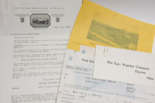 1927 Lamson Goodnow Egry Register Com-Pak Ad - Dayton OH Letter Ephemera L39F