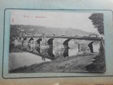 Markenlose Ansichtskarten aus Deutschland mit dem Thema Brücke