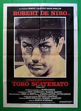 M34 MANIFESTO 2F  TORO SCATENATO ROBERT DE NIRO MARTIN SCORSESE