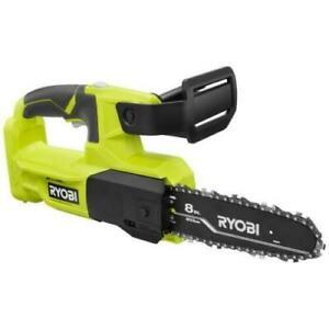 RYOBI 18 VOLT 8 INCH Pruning Chainsaw (BARE TOOL) P5452BTL FAST free SHIPPING
