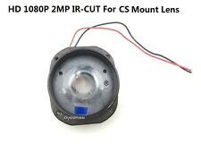 CCTV HD 2.0MP 1080P IR-CUT 20mm Pitch CS Lens Mount Holder Dual Filter IR-CUT