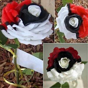 Rare Rainbow Pokemon Rose Seeds Black Red White Color For Garden Balcony Plantin