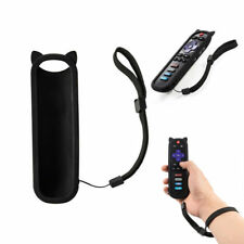 Black Silicone Protective Soft Remote Control Case Cover For RC280 TCL ROKU TV