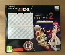 Nintendo New 3DS LL Limited Edition New Style Boutique 2. WHITE CONSOLE NEW NEU