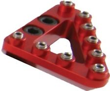 Hammerhead Beta Alluminum Brake Pedal Tip RED Large  AB-21085-L