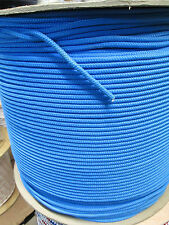 """:  100 Ft. 3/16"""" Braided Utility Rope  300 lb (new item) Made in USA"""