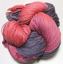 Euro Baby Cuddly Cotton Color 109 Red Purple Pink 100 Gram Skein